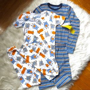 NWT Carter's Boys Size 10 Coordinating Pajama Set